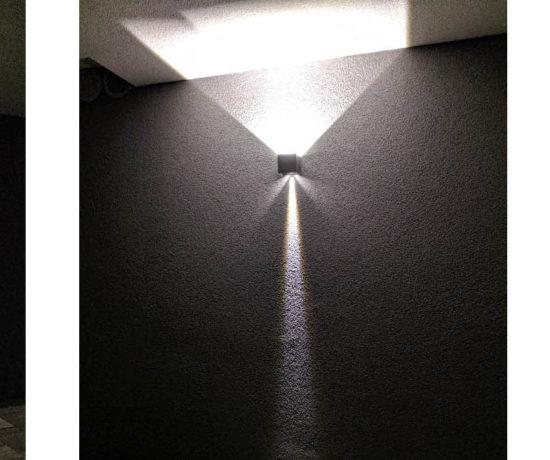 Wandlampe außen