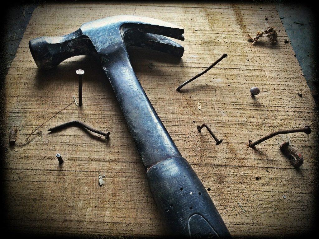 Werkzeug zum Werkstatt einrichten